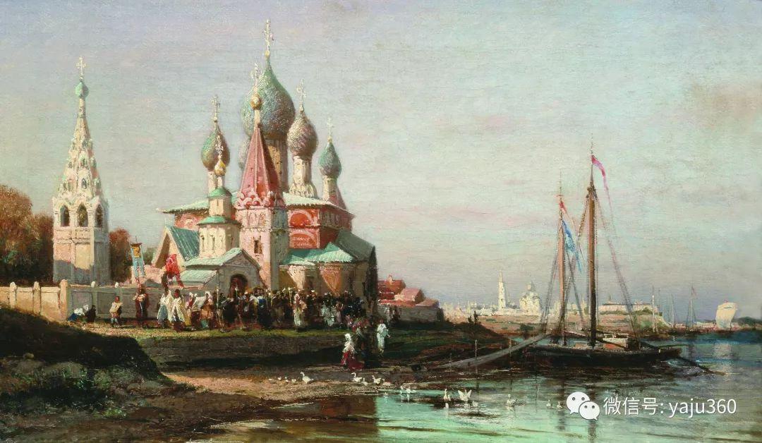 海洋景观 俄罗斯画家Alexey Bogolyubov插图51
