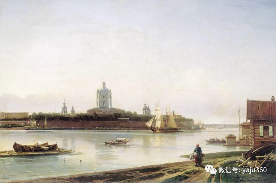 海洋景观 俄罗斯画家Alexey Bogolyubov插图59