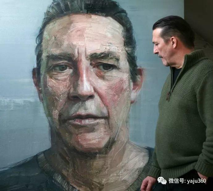 人物肖像作品 北爱尔兰Colin Davidson插图3