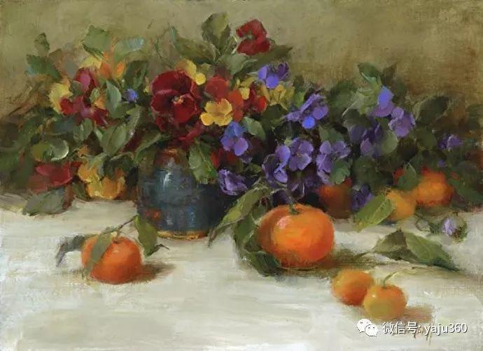 花卉绘画 Stephanie Birdsall作品欣赏插图26