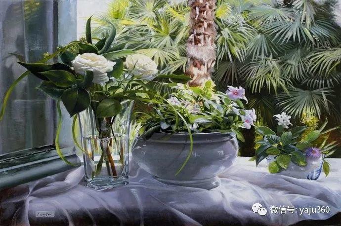 静物花卉 波兰女画家Danka Weitzen插图