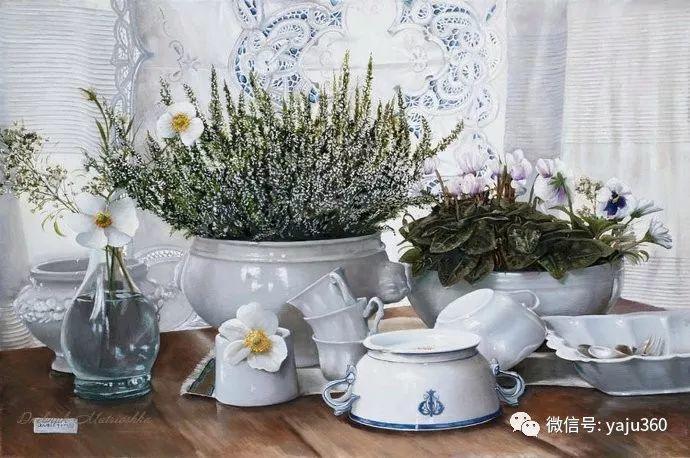 静物花卉 波兰女画家Danka Weitzen插图1