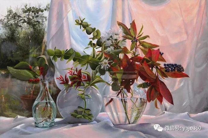 静物花卉 波兰女画家Danka Weitzen插图3