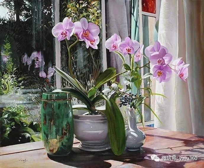 静物花卉 波兰女画家Danka Weitzen插图4