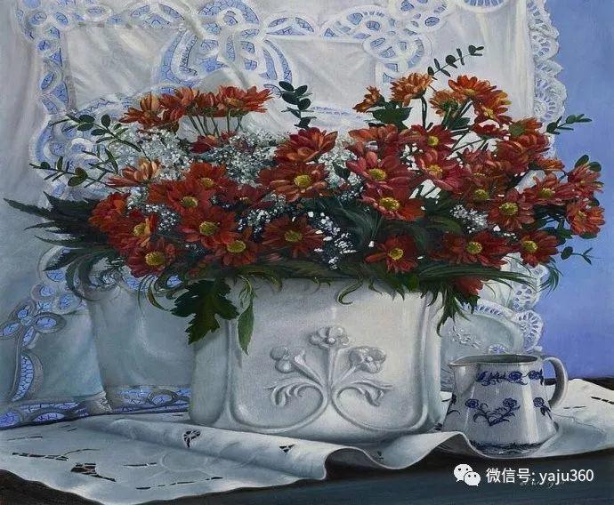 静物花卉 波兰女画家Danka Weitzen插图5
