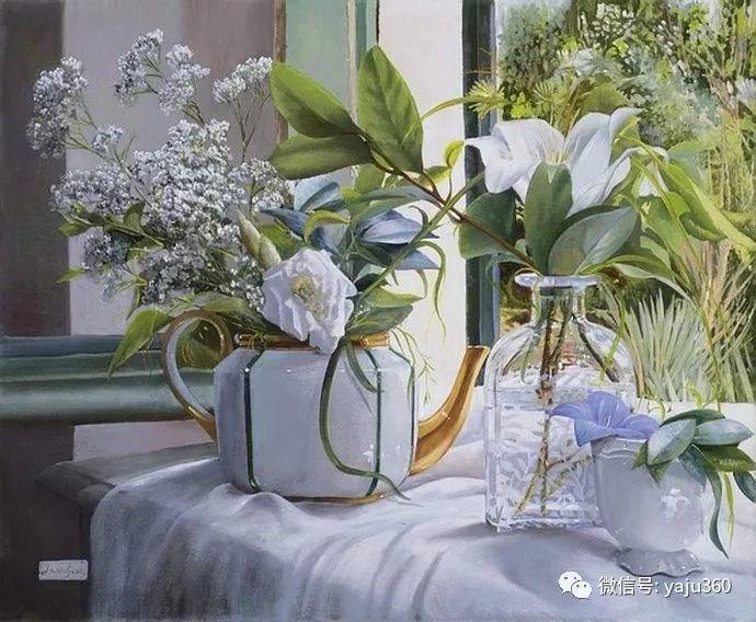 静物花卉 波兰女画家Danka Weitzen插图6