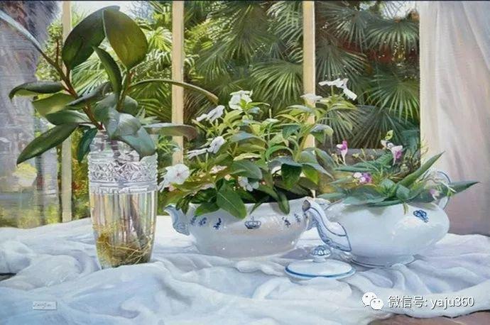 静物花卉 波兰女画家Danka Weitzen插图7