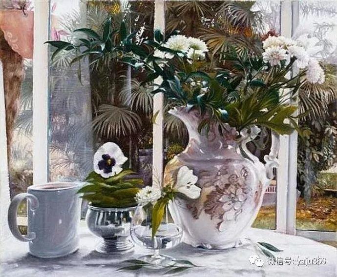 静物花卉 波兰女画家Danka Weitzen插图9