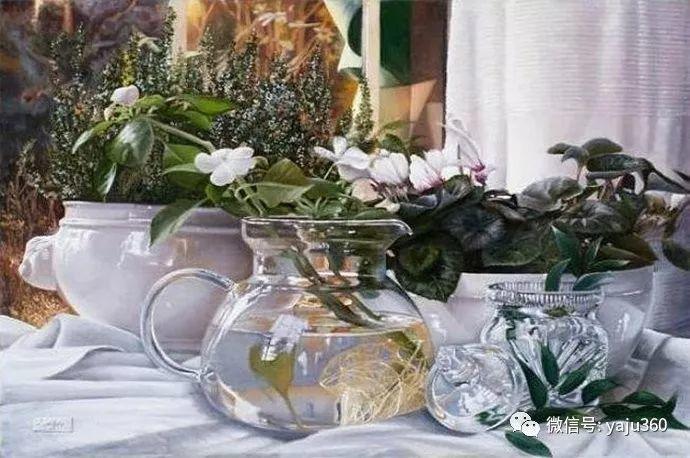 静物花卉 波兰女画家Danka Weitzen插图14