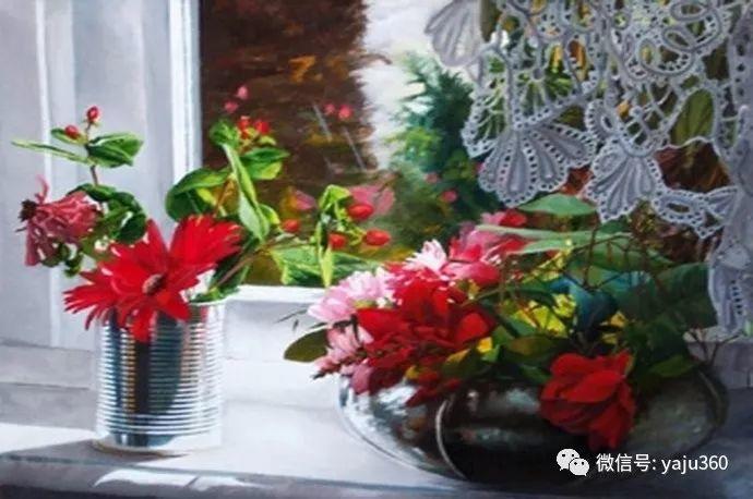 静物花卉 波兰女画家Danka Weitzen插图25
