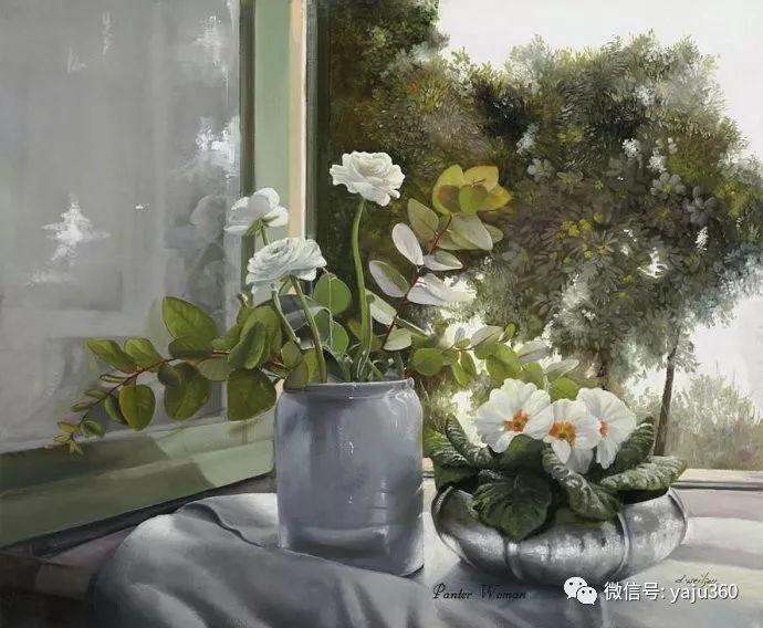 静物花卉 波兰女画家Danka Weitzen插图34