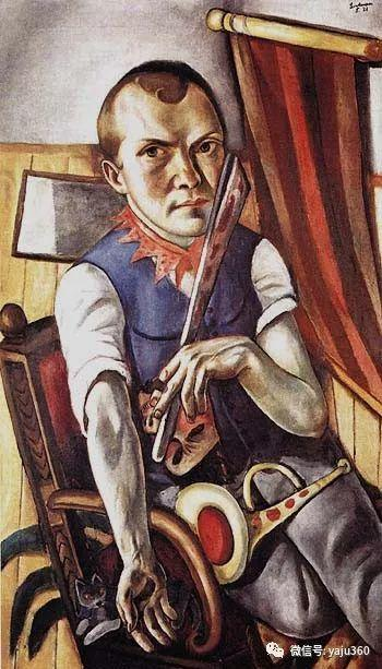一位不可多得的艺术大师 德国画家Max Beckmann插图1
