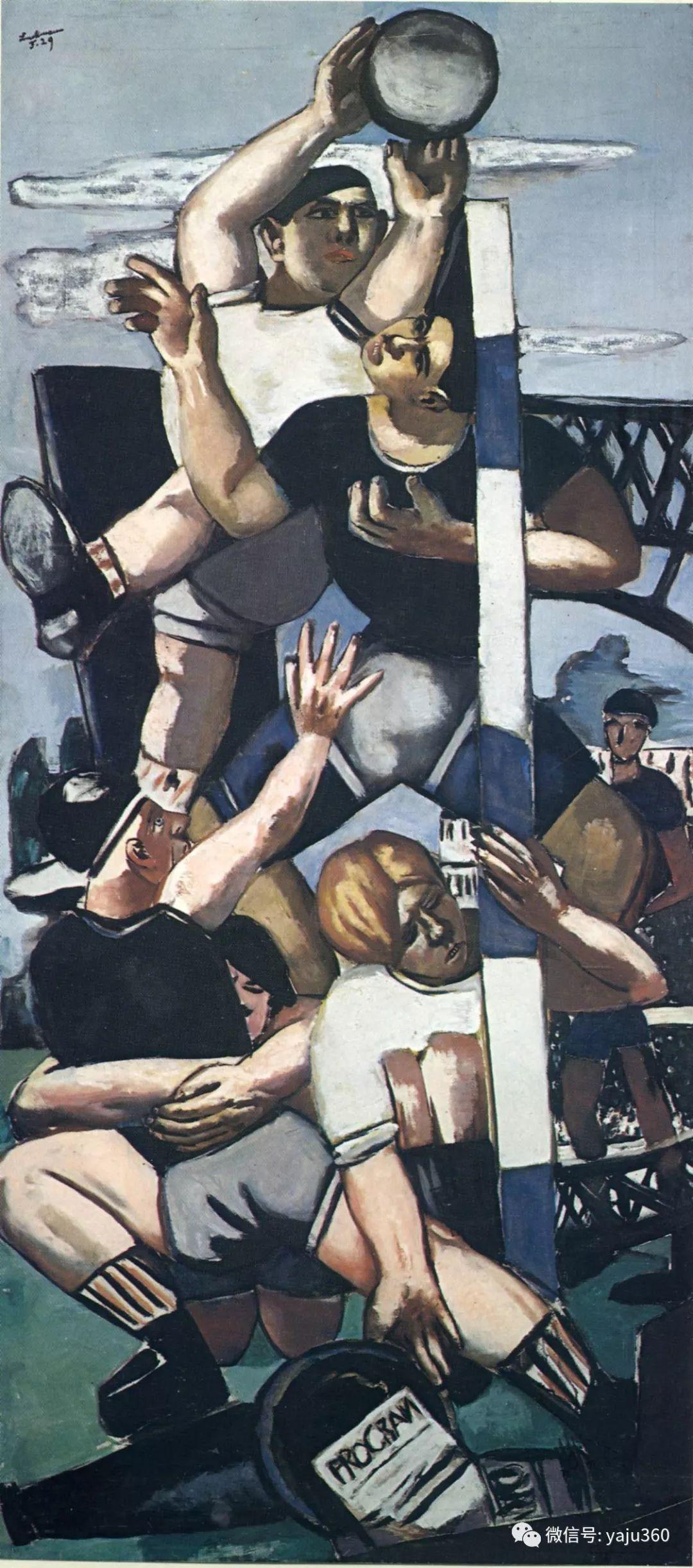 一位不可多得的艺术大师 德国画家Max Beckmann插图27