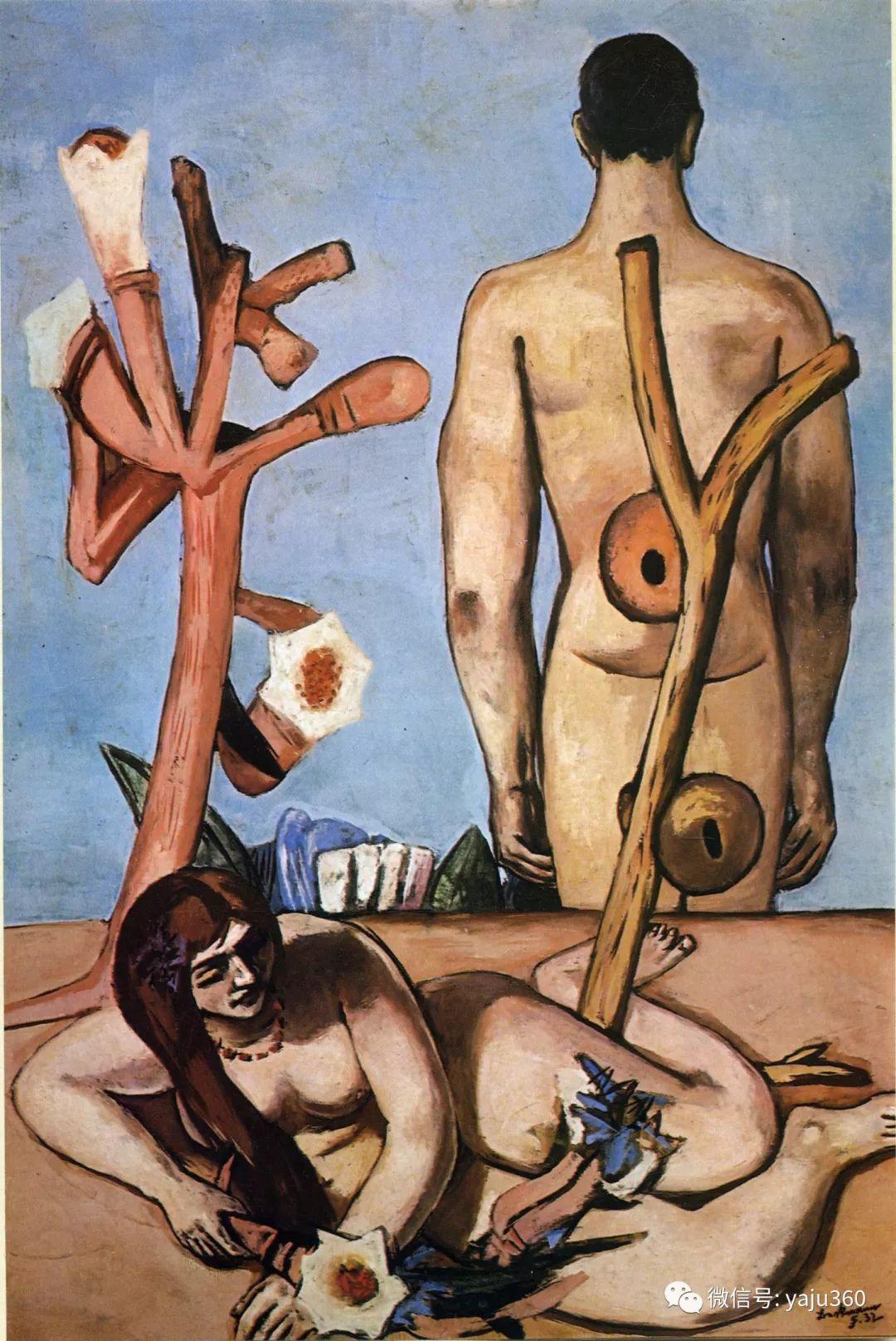 一位不可多得的艺术大师 德国画家Max Beckmann插图35