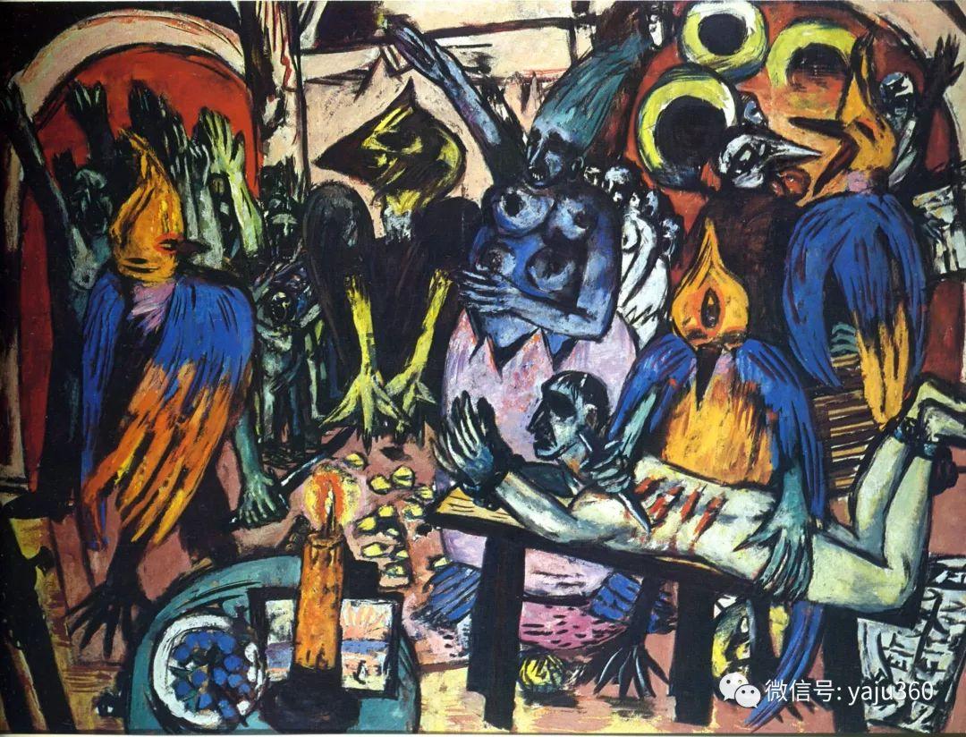一位不可多得的艺术大师 德国画家Max Beckmann插图45