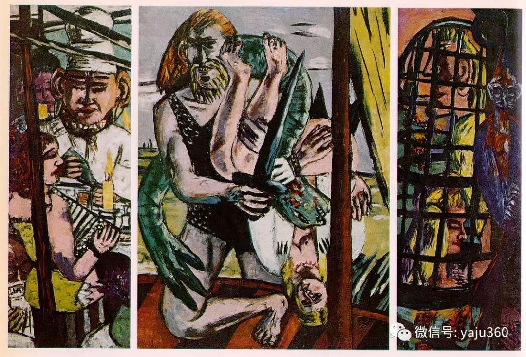 一位不可多得的艺术大师 德国画家Max Beckmann插图49