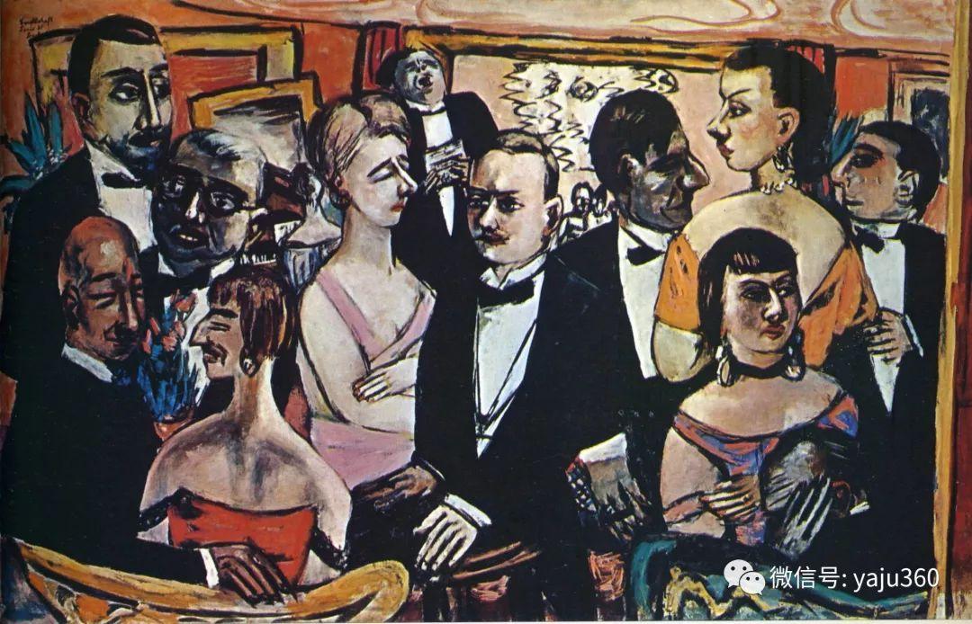 一位不可多得的艺术大师 德国画家Max Beckmann插图59