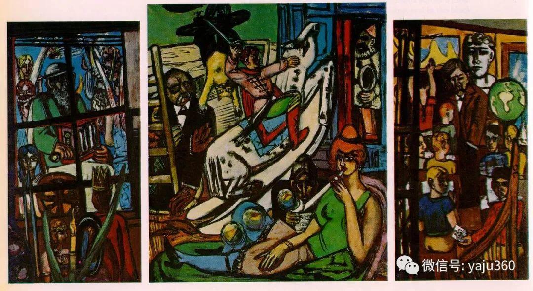 一位不可多得的艺术大师 德国画家Max Beckmann插图61