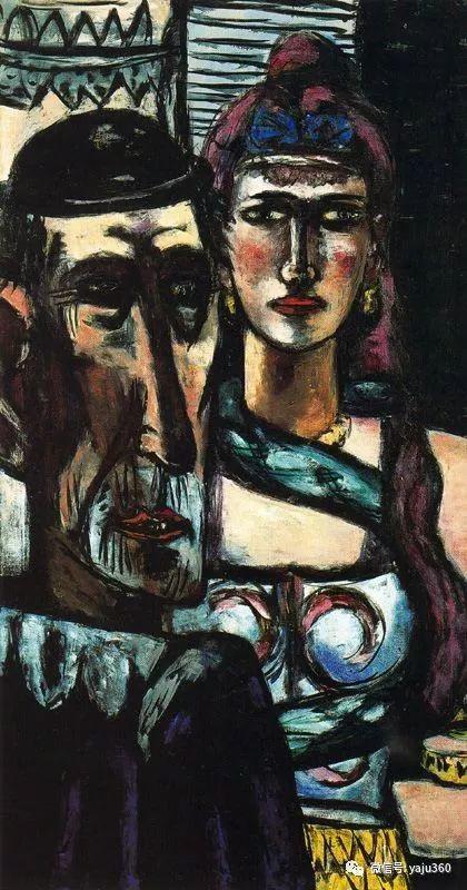 一位不可多得的艺术大师 德国画家Max Beckmann插图69