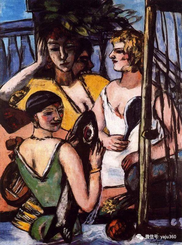 一位不可多得的艺术大师 德国画家Max Beckmann插图71