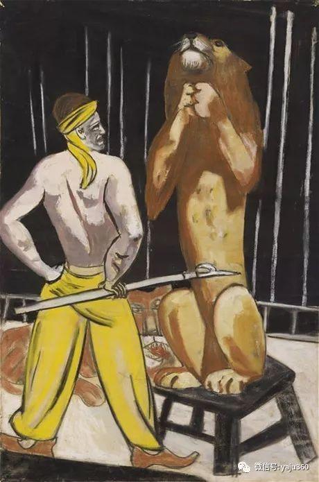 一位不可多得的艺术大师 德国画家Max Beckmann插图81