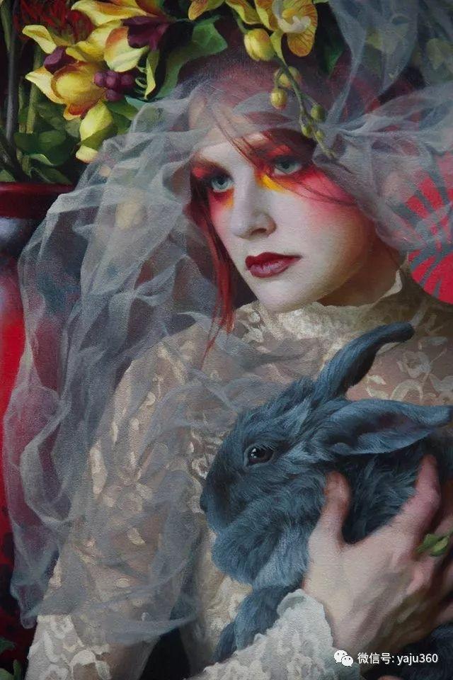 美国女画家Adrienne Stein作品欣赏插图11