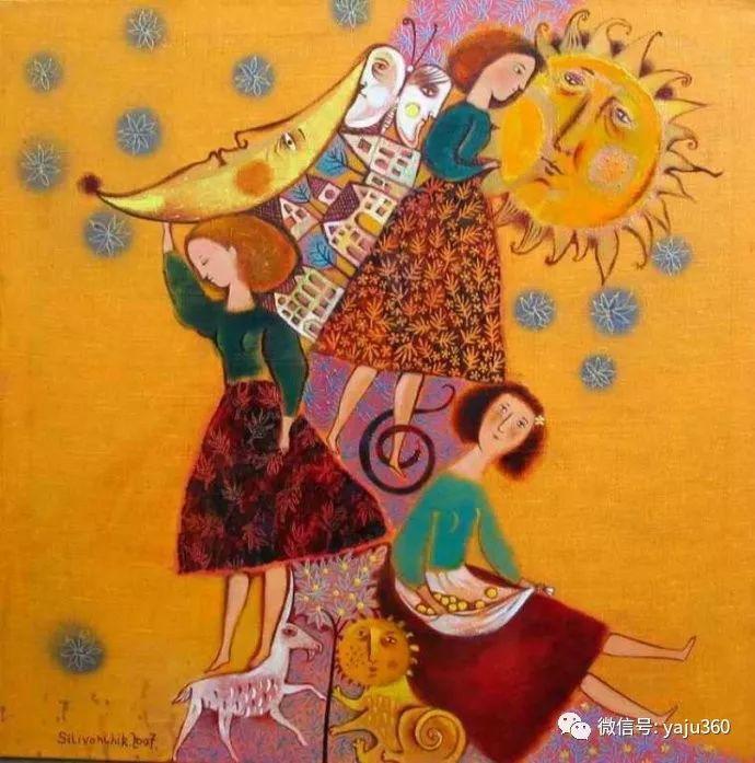 回到童年 白俄罗斯Anna Silivonchik绘画欣赏插图