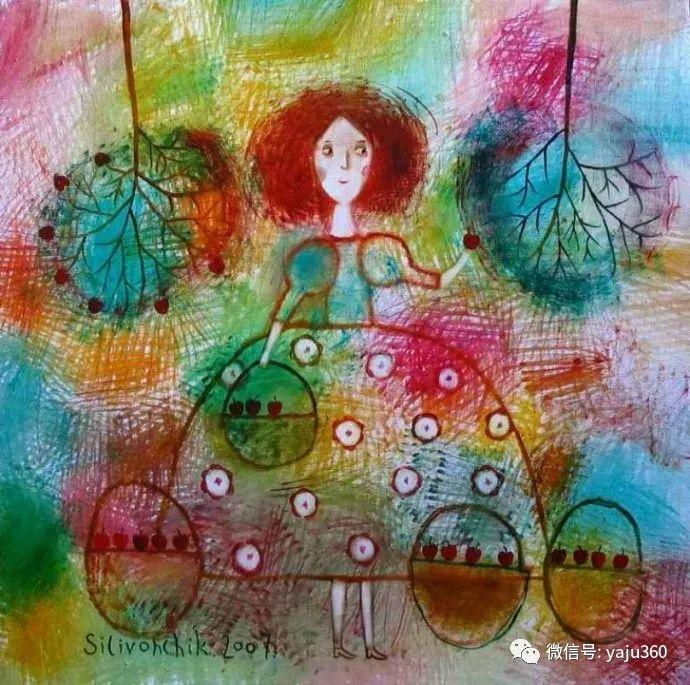 回到童年 白俄罗斯Anna Silivonchik绘画欣赏插图1