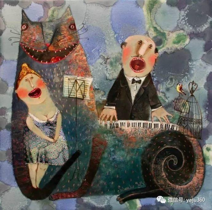回到童年 白俄罗斯Anna Silivonchik绘画欣赏插图2