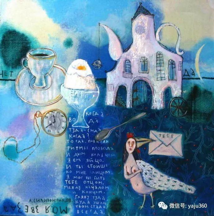 回到童年 白俄罗斯Anna Silivonchik绘画欣赏插图4
