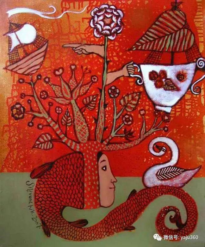 回到童年 白俄罗斯Anna Silivonchik绘画欣赏插图5