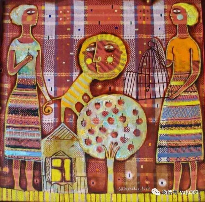 回到童年 白俄罗斯Anna Silivonchik绘画欣赏插图7