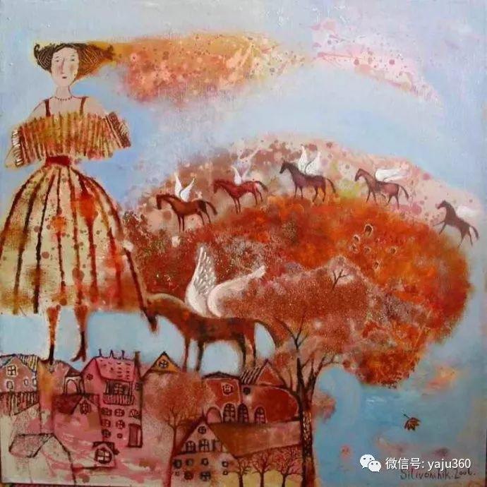 回到童年 白俄罗斯Anna Silivonchik绘画欣赏插图9