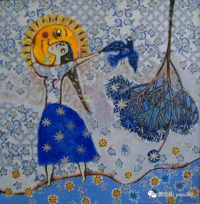 回到童年 白俄罗斯Anna Silivonchik绘画欣赏插图11