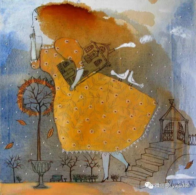 回到童年 白俄罗斯Anna Silivonchik绘画欣赏插图12