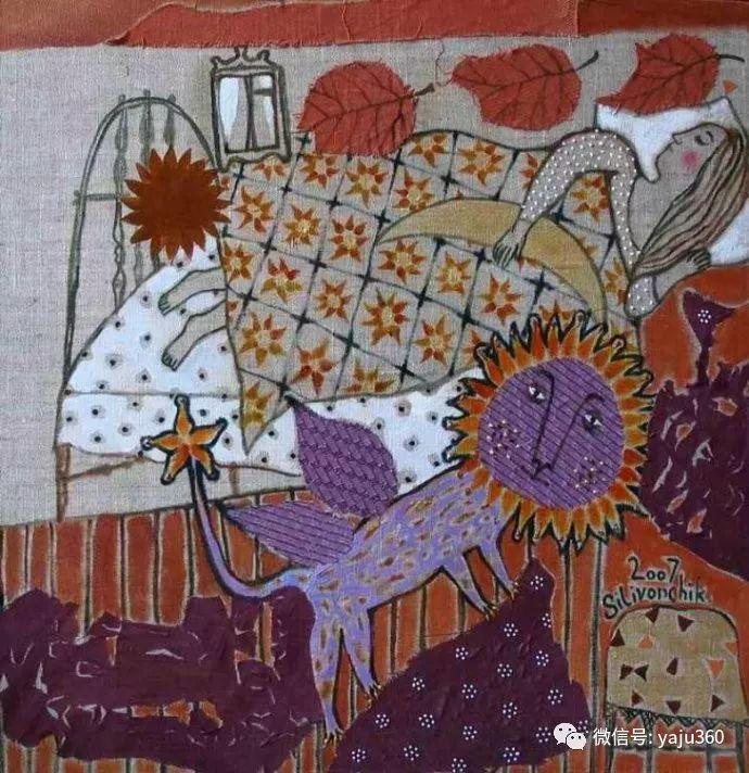 回到童年 白俄罗斯Anna Silivonchik绘画欣赏插图13