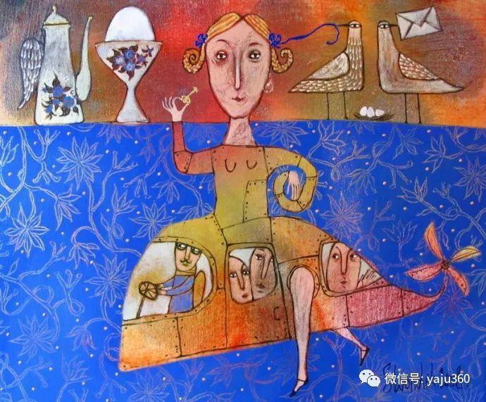 回到童年 白俄罗斯Anna Silivonchik绘画欣赏插图14
