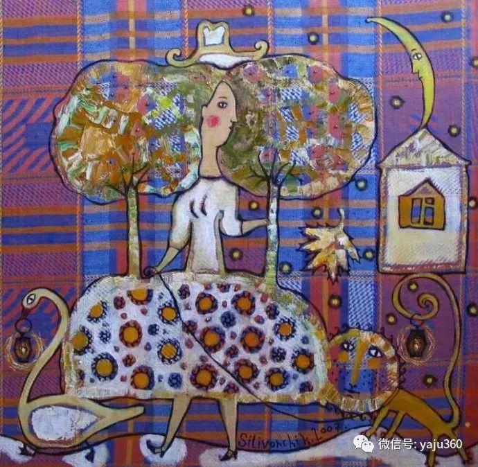 回到童年 白俄罗斯Anna Silivonchik绘画欣赏插图15