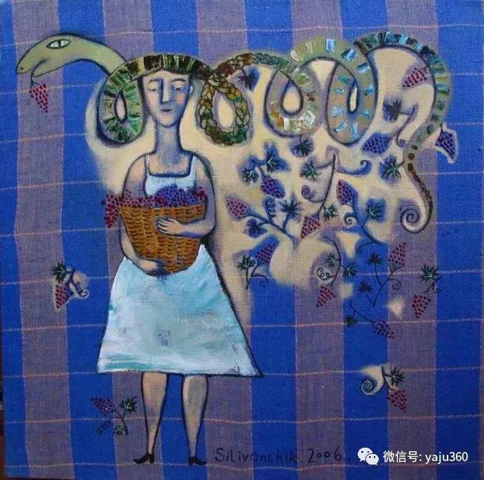 回到童年 白俄罗斯Anna Silivonchik绘画欣赏插图18