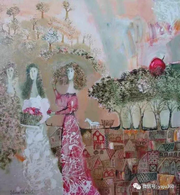 回到童年 白俄罗斯Anna Silivonchik绘画欣赏插图19