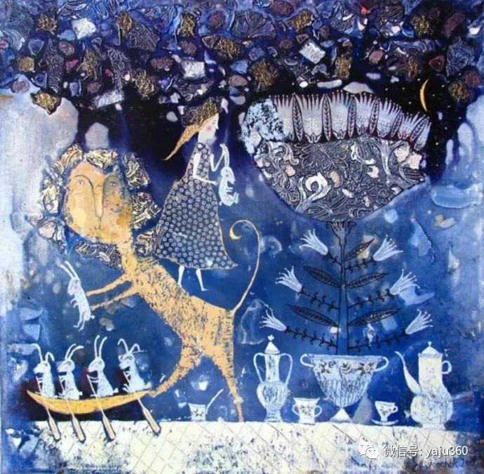 回到童年 白俄罗斯Anna Silivonchik绘画欣赏插图22
