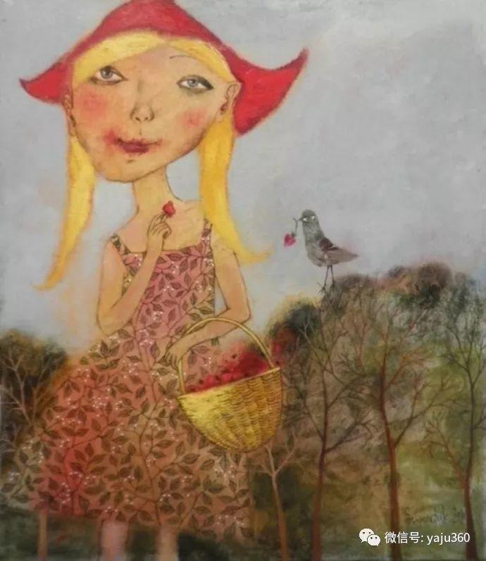 回到童年 白俄罗斯Anna Silivonchik绘画欣赏插图23