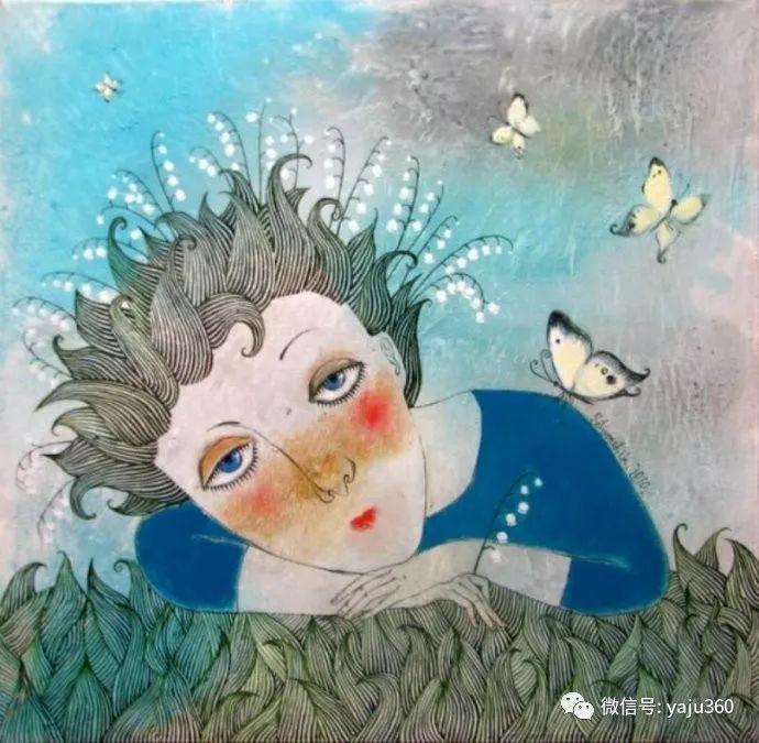 回到童年 白俄罗斯Anna Silivonchik绘画欣赏插图24