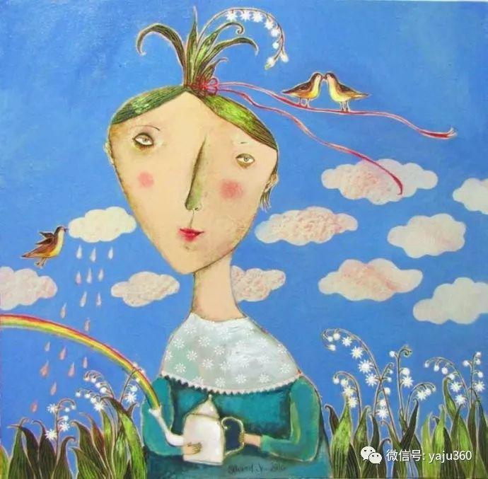 回到童年 白俄罗斯Anna Silivonchik绘画欣赏插图25