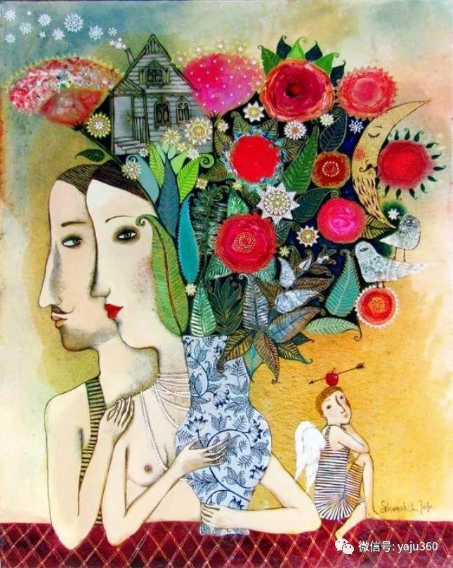 回到童年 白俄罗斯Anna Silivonchik绘画欣赏插图26