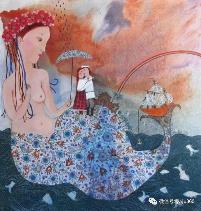 回到童年 白俄罗斯Anna Silivonchik绘画欣赏插图27