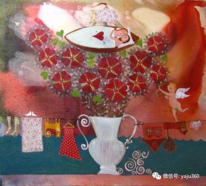 回到童年 白俄罗斯Anna Silivonchik绘画欣赏插图28
