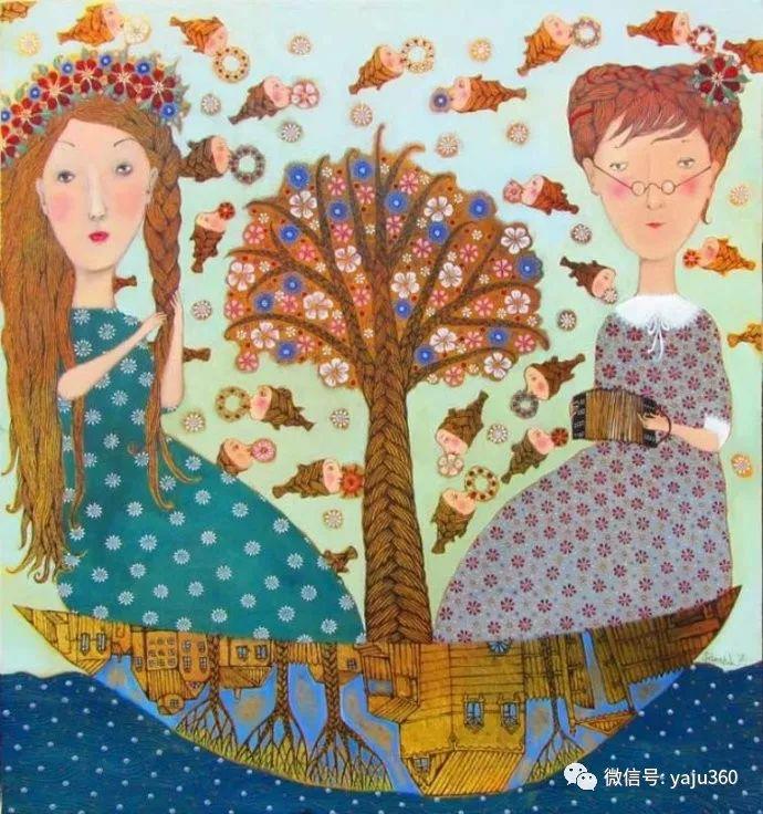 回到童年 白俄罗斯Anna Silivonchik绘画欣赏插图29