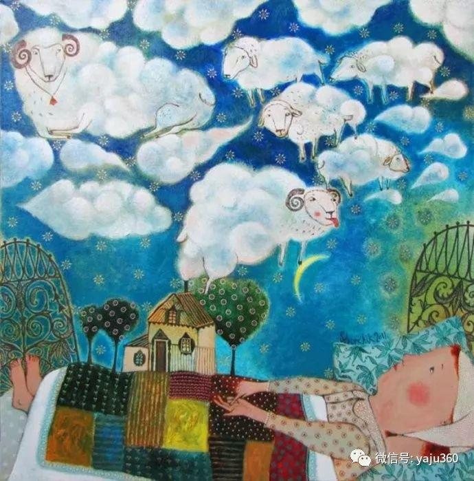 回到童年 白俄罗斯Anna Silivonchik绘画欣赏插图31