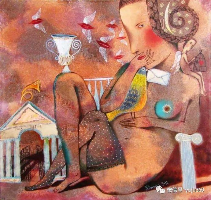 回到童年 白俄罗斯Anna Silivonchik绘画欣赏插图33